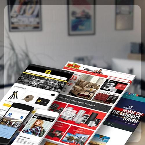 طراحی سایت و اپلیکیشن موبایل گروه نرم افزاری پرتقال